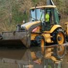 equipment in water