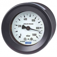 With a compact design, WIKA models 516.11, 516.12 provide measurement of absolute pressure without the effect of barometric pressure variation.