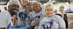 WIKA employees volunteer their time