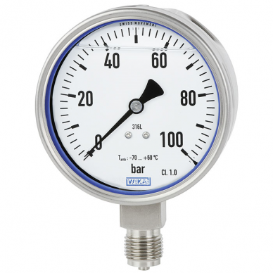 Pressure Gauge for Extremely Cold Temperatures