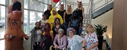 WIKA Group Photo of Costumed Employees