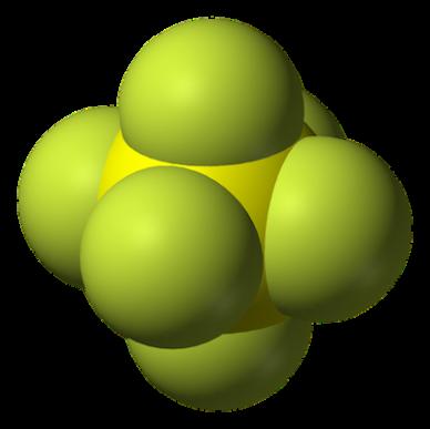 SF6 molecule