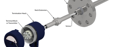 temperature transmitter assembly