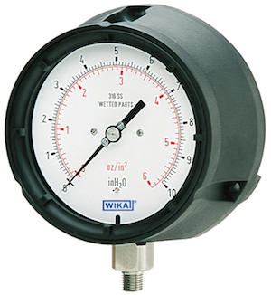 low-pressure process gauge