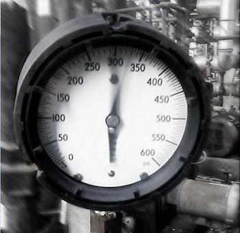 Effect of pulsation on pressure gauge