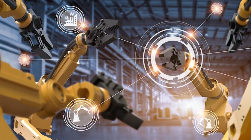 Robotics on factory floor