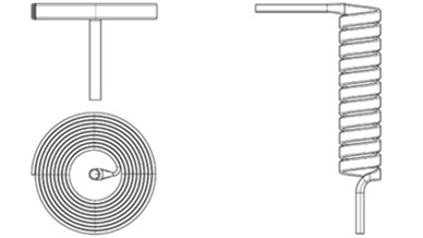 Direct drive gauge's Bourdon tube