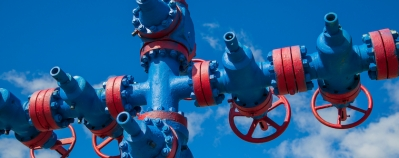 Oil and gas pressure gauge
